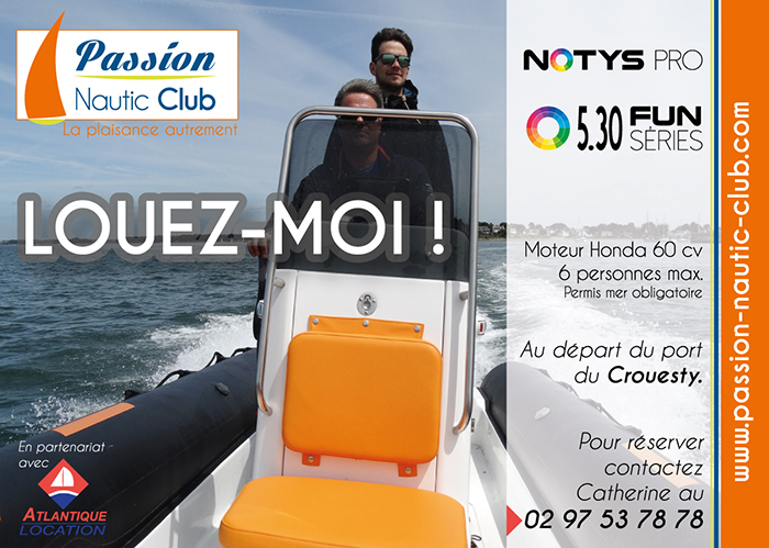 Location Notys Pro Passion Nautic Club